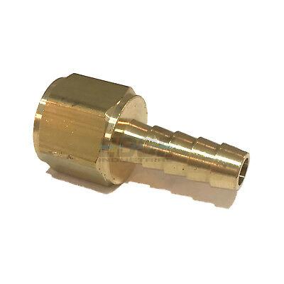 516 Hose Barb X 38 Female Npt Brass Pipe Fitting Npt Thread Gas Fuel Water Air