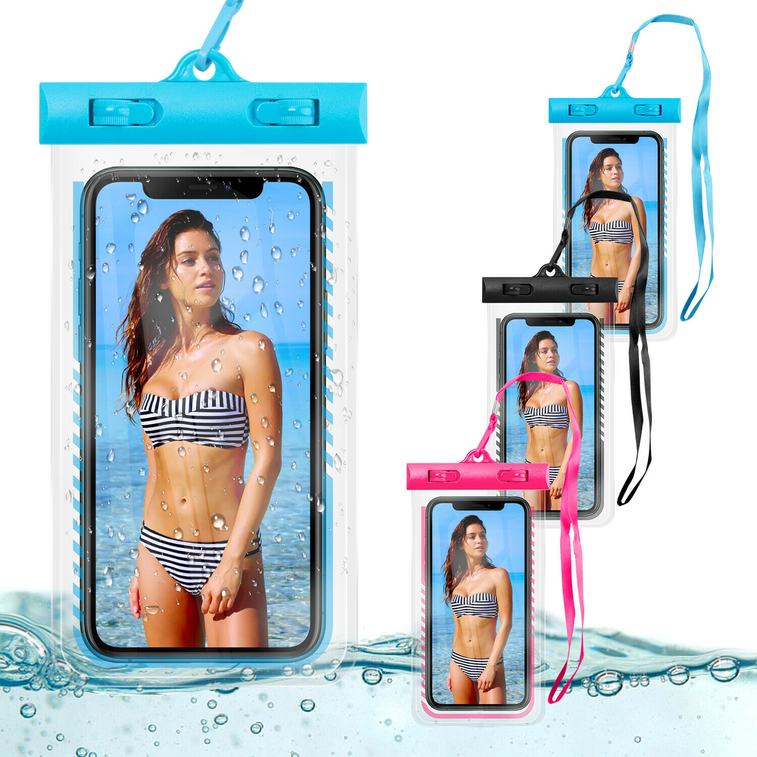 Waterproof Bag Phone Underwater Swimming Diving Floating Pouch Dry Case Cover Cases, Covers & Skins