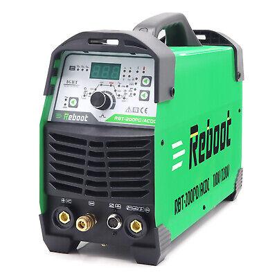 Tig200p 200a Tig Welder Ac Dc 110220v Igbt Inverter Welding Equipment Machine