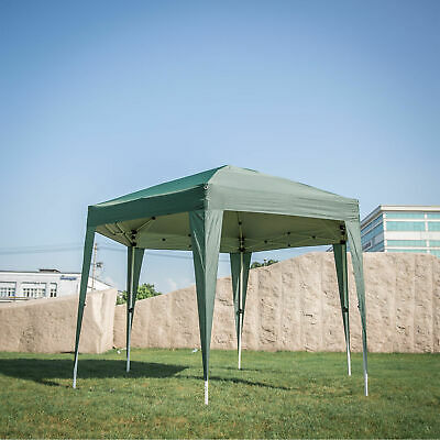 Patio Canopy Hexagonal Garden Gazebo Side Wall Party Tent Outdoor Weddings Green