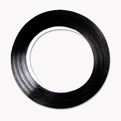 "Cosco Art Tape Black Gloss 1/4"" x 324"" 098075"