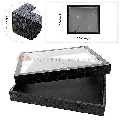 Display Case With Acrylic See Through Top Organizer Storage Travel Case