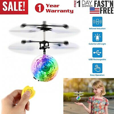 Toys for Boys Flying Ball LED 3 4 5 6 7 8 9 10 11Year Old Age Xmas Boy Cool