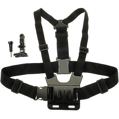 Imbracatura Fascia Cinghia Cintura Petto per GoPro Hero5 Session 4 3+ 3 2 1