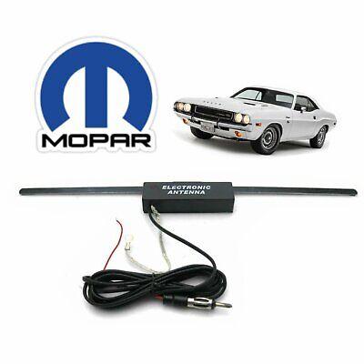 1962-76 Mopar B E Body Hidden Amplified Radio Antenna FM Stereo daytona plymouth