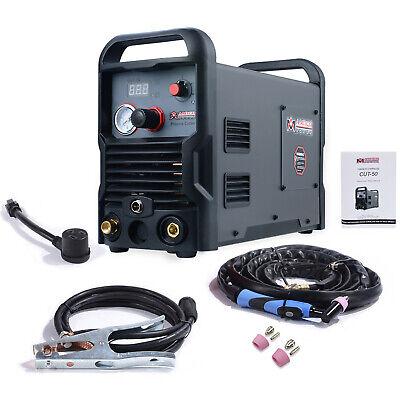 Cut-50 50 Amp Air Plasma Cutter 110v 230v Dual Voltage Dc Inverter Cutting