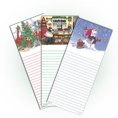 Suzys Zoo Christmas Notepad 3-pack 11112
