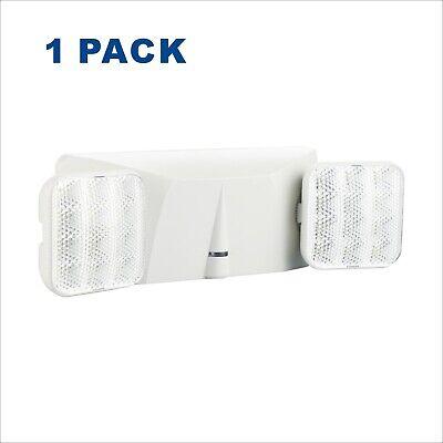 1 Pack Led Emergency Lights Battery Backup Commercial Emergency Light Fixture