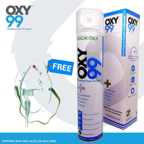 Oxy99 Portable Oxygen Cylinder FAST SHIPPING
