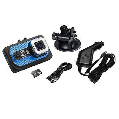 Top Dawg EagleEye 1080P DVR Dash Camera w/G-Sensor & 8 GB SD TDEE1080CAM