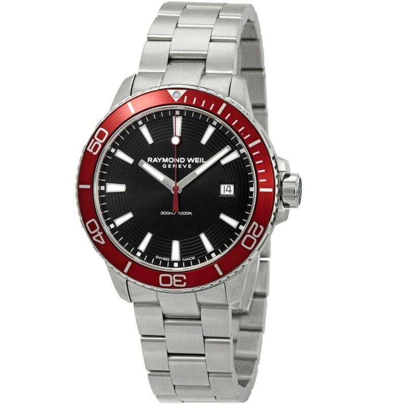 Raymond Weil 8260-ST4-20001 Men Tango Black Quartz Watch
