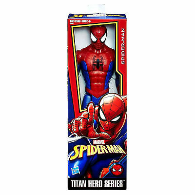 Big Spider-Man Titan Hero Series Action Figure Toy Marvel Large 12 Inch For Kids (Marvel Kid)