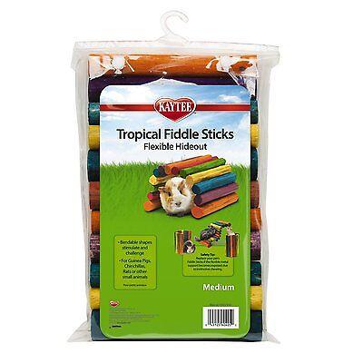 - Kaytee  Medium Tropical Fiddle Sticks Hideout