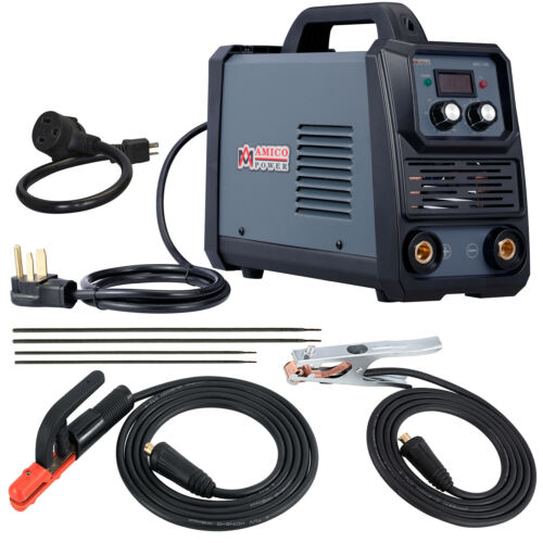 Amico 160 Amp Stick Arc DC Welder, 100~250V Wide Voltage, 80% Duty Cycle.