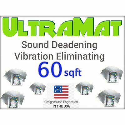 1997 - 2003 F150 60 SqFt UltraMat Heat & Sound Barrier 60 12 x 12 Tiles xl