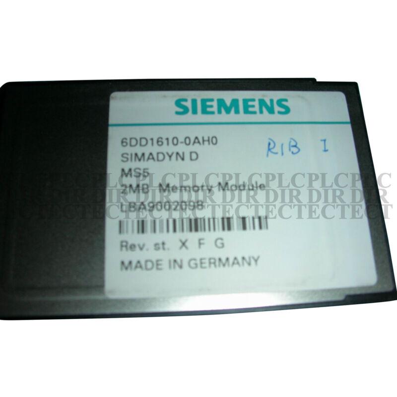 Used tested work 100% Siemens 6DD1610-0AH0 Flash Memory Module