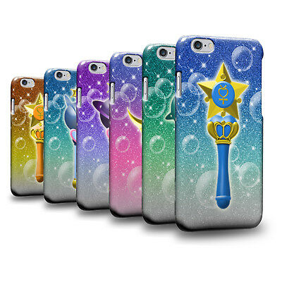 Art Sailor Moon Crystal Sailor Wand 2 Hard Cover Skin for Apple iPhone (Ipod Crystal Skin)