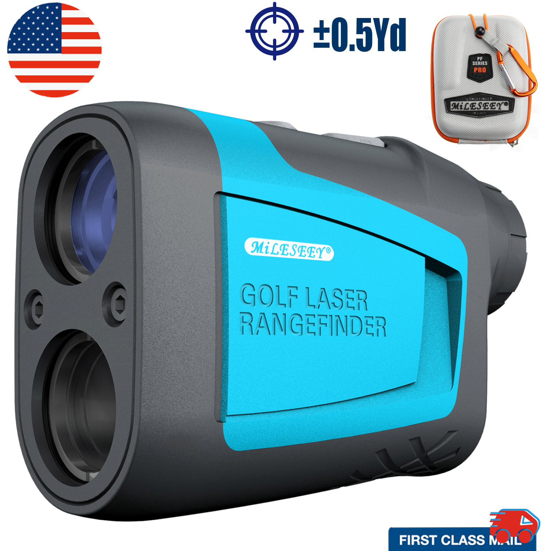 MILESEEY 650 Yards Laser Range Finder Hunt Golf Laser Rangef