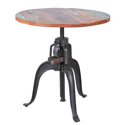 Esszimmertisch Esstisch Küchentisch 75 cm rund Mango Metall Tisch Design shabby ()