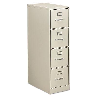 Hon 310 Series Four-drawer Full-suspension File Letter 26-12d Light Gray 314pq