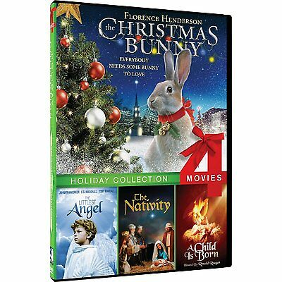 The Christmas Bunny/Littlest Angel/The Nativity/A Child is Born DVD  ()