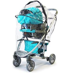 Hauck Malibu Pram 3 In 1 Universal Raincover HEAVY DUTY / HIGH QUALITY