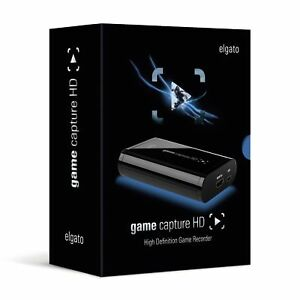 Elgato Game Capture HD Xbox 360/One Playstation PS3/PS4 Recorder MAC/PC / REF