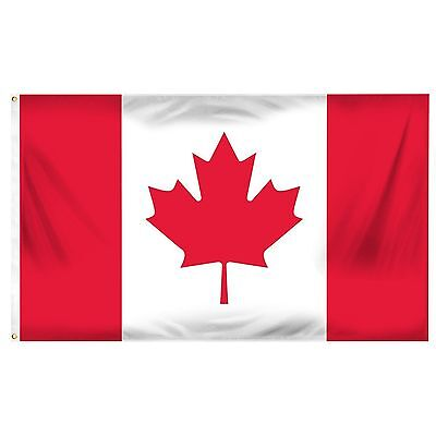 2x3 Canada Flag Canadian Banner Country Pennant Indoor Outdoor 24x36 inches