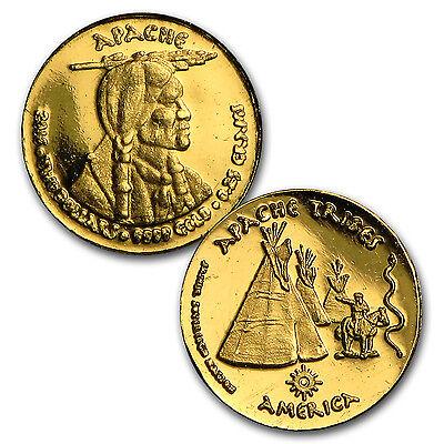 2016 1.75 gram Gold Apache Fractional Set (Hand-Struck) - SKU #101576