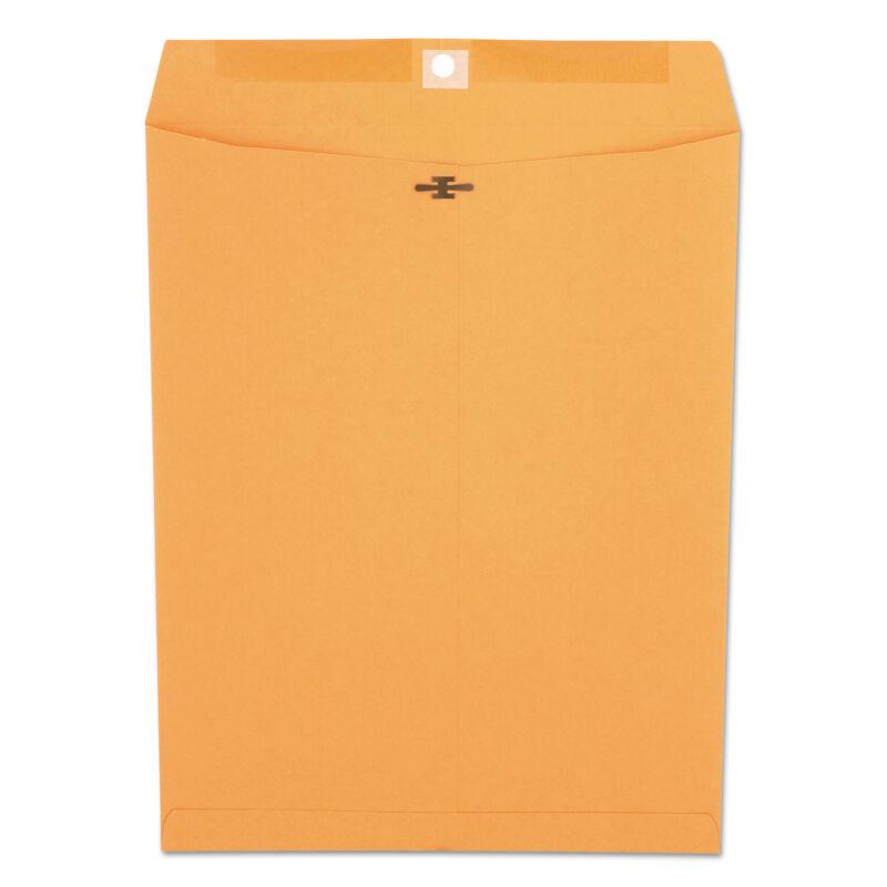 UNIVERSAL Kraft Clasp Envelope Center Seam 32lb 10 x 13 Brown Kraft 100/Box