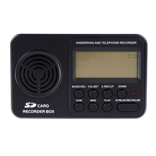 TR500 Landline Phone Call Recorder Automatic Telephone Recording Analog Lines