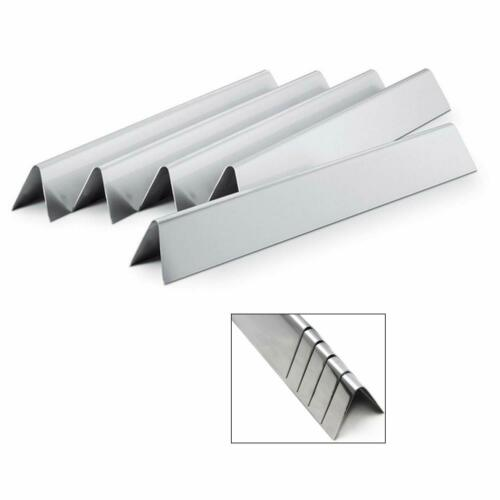 "Set 5 Stainless Steel Bars Flavorizer 22.5"" Gas Grill Parts"