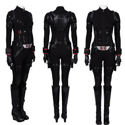 Black Widow Cosplay Costume (Avengers 4 Endgame Black Widow Costume Natasha Romanoff Women Cosplay)