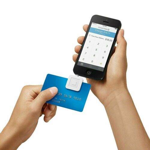 Square Swipe Payment Credit Card Reader for iPhone, iPad and Android