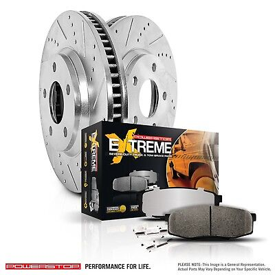 F150 Power Disc Brake - Disc Brake Pad and Rotor Kit POWER STOP K1866-36 fits 97-03 Ford F-150