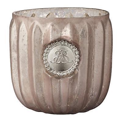 Rosa Vintage Tee (Teelichthalter Windlicht Dante rosa 6,5 Vintage Retro Skandinavisch Lene Bjerre)