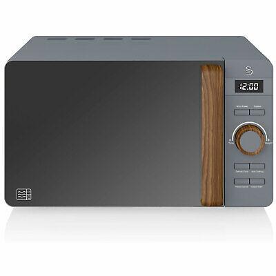 Digitale Mikrowelle 20L Modernes Design Nordic, 6 Betriebsebenen 800W SWAN SM220