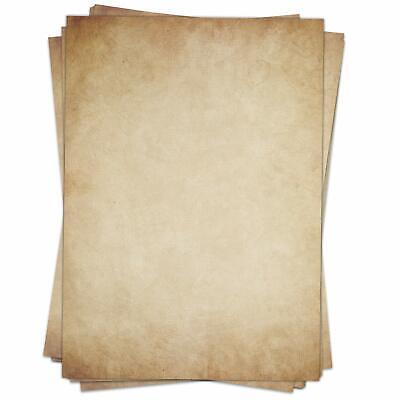 Motiv-Briefpapier ALTES PAPIER DIN A5 Format 50 Blatt