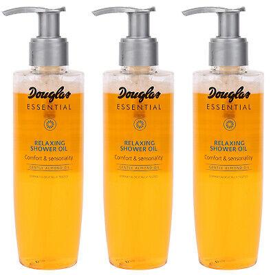 3x Douglas Essential Duschöl Körperpflege Mandelöl 200 ML SET MU0006