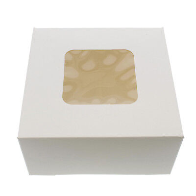Specialt White Bakery Boxes With Window 200pk Cake Boxes Party Favor Boxes