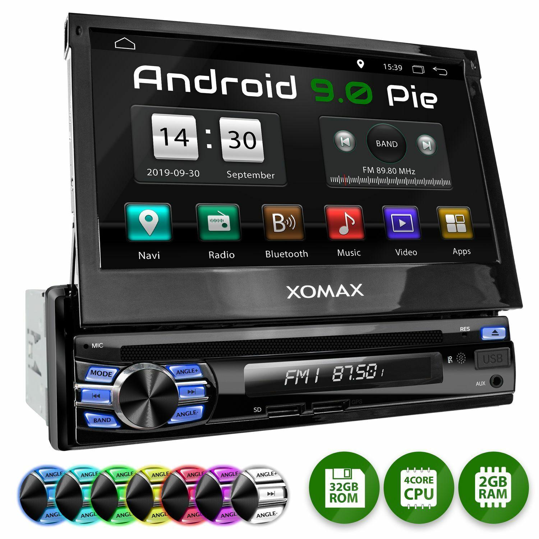 EU 6.2 Zoll Autoradio Bluetooth Android GPS Navigation 2+32GB Mit Mirror Link