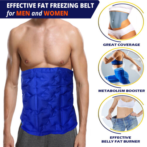 BODY WRAP-EFFECTIVE CRYOLYPOLISIS-TUMMY TUCK AT HOME-BELLY FAT BURNER