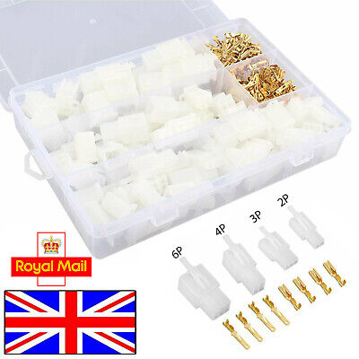 380pcs 4 Types of Automotive Electrical Wire Connector Cable Terminal Plug Car