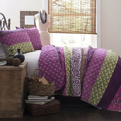 Brand New Lush Decor Royal Empire 3-Piece Quilt Set, King, P