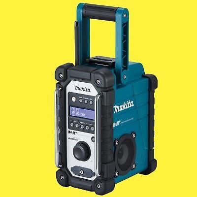 MAKITA Akku-Baustellenradio DMR 110 DAB/DAB+ 7,2-18 V Digital Audio Radio DMR110