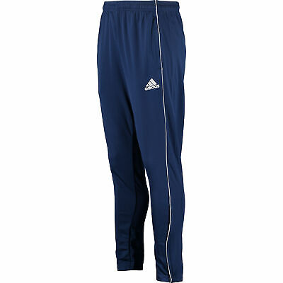Adidas Core18 Mens Tracksuit Bottoms Joggers Navy, Typical Football Fit Size: M
