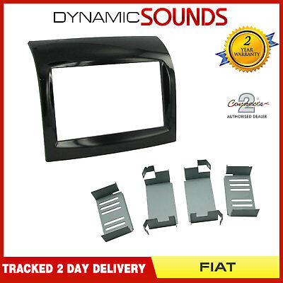 CT23FT17 Double Din Car Stereo Fascia Fitting Surround Panel For FIAT Ducato