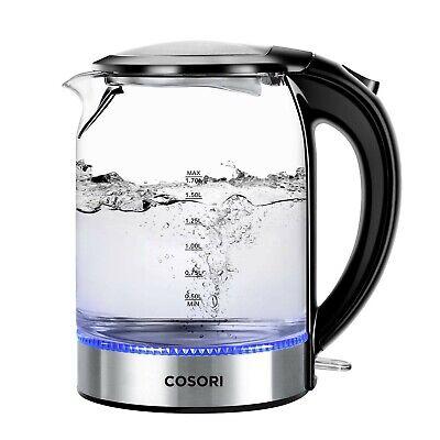 Best Electric Kettle Cosori 1.7L Hot Water Heater Tea Auto Shut Off