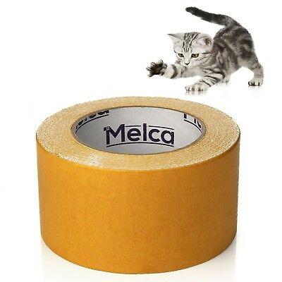 Melca Cat Scratch Deterrent Sticky Tape 10 Yd 2.5 Inch Repellent