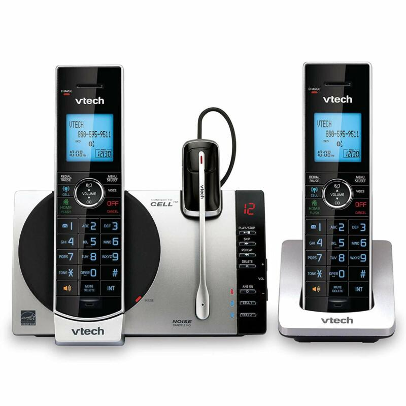 VTech DS6771-3 DECT 6.0 Expandable Cordless Phone, Siri and Google Now Access
